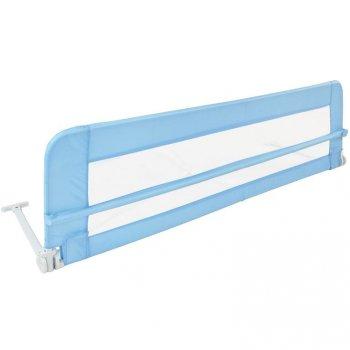 Dětská zábrana na postel, 150 cm, modrá