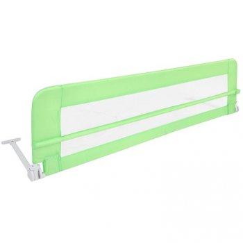 Dětská zábrana na postel, 150 cm, zelená