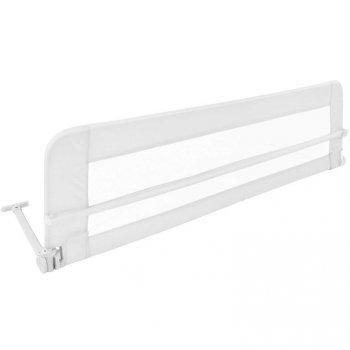 Dětská zábrana na postel, 102 cm, bílá
