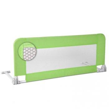 Dětská zábrana na postel, 102 cm, zelená