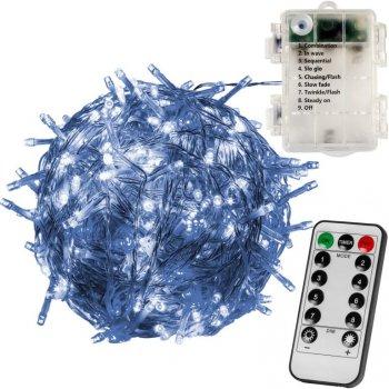 VOLTRONIC světelný řetěz - 50 LED, teplá/studená bílá