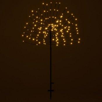 Vánoční dekorace světelný strom, 140 LED, teplá bílá