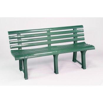 Plastová lavice ORCHIDEA - zelená