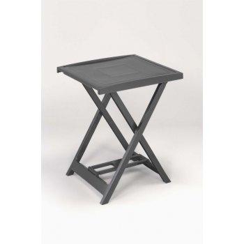 Plastový stolek ARNO - grafit
