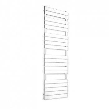 Designový koupelnový radiátor 1500 x 450 mm, bílý