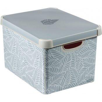 Úložný box s víkem CURVER - L lístky