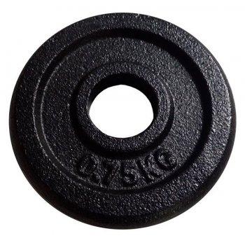 Litinový kotouč (závaží) na činky 0,75kg - 30 mm