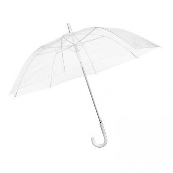 Elegantní průhledný deštník, průměr 100 cm