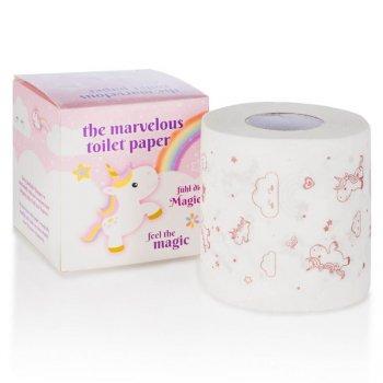 Důmyslný zábavný toaletní papír jednorožec, aromatický