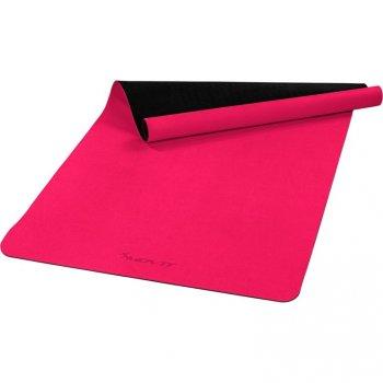 MOVIT Jóga podložka na cvičení, 190 x 100 cm, růžová