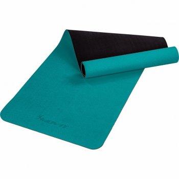 MOVIT Jóga podložka na cvičení, 190 x 60 cm, tmavě zelená
