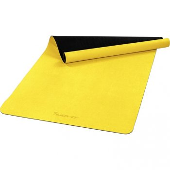 MOVIT Jóga podložka na cvičení, 190 x 100 cm, žlutá