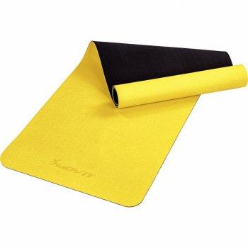 MOVIT Jóga podložka na cvičení, 190 x 60 cm, žlutá