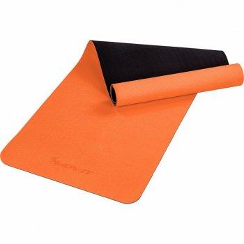 MOVIT Jóga podložka na cvičení, 190 x 60 cm, oranžová