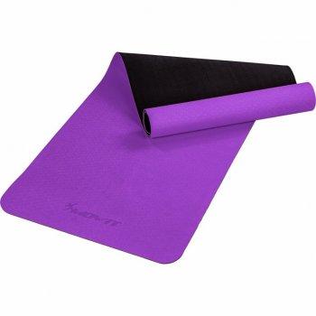 MOVIT Jóga podložka na cvičení, 190 x 60 cm, fialová