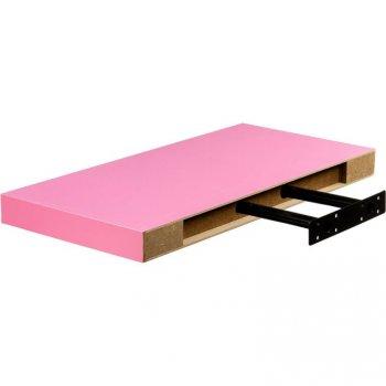 Stilista nástěnná police Volato, 90 cm, růžová
