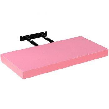 Stilista nástěnná police Volato, 40 cm, růžová