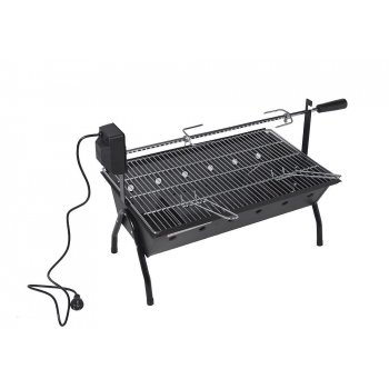 Gril Barbecue s motorem, 86 x 41 x 51 cm