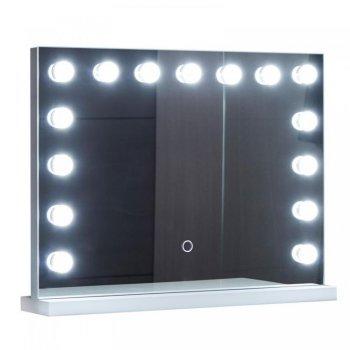 Aquamarin Koupelnové LED zrcadlo Holywood 58 x 43 cm