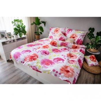 Ložní povlečení DITA, Flores pink