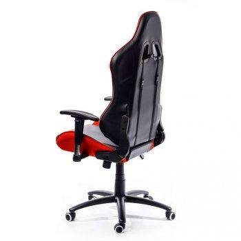 Kancelářská židle Nebraska - černá, červená