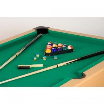Kulečníkový stůl pool billiard kulečník 6 ft - s vybavením