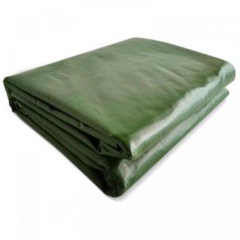 JAGO Plachta 650 g/m², hliníková oka, zelená, 4 x 5 m
