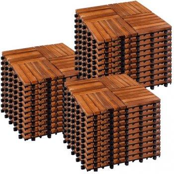 STILISTA dřevěné dlaždice, mozaika 6, akát, 3 m²
