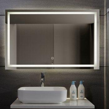 Aquamarin Koupelnové zrcadlo s LED osvětlením, 110 x 70 cm