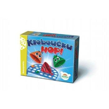 Kloboučku, hop! společenská hra v krabici 23x18x3,5cm