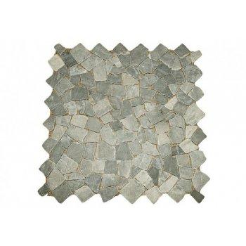 Mramorová mozaika Garth- šedá obklady 1 m2 D00622