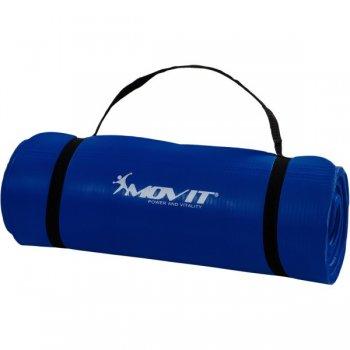 Podložka na cvičení MOVIT® 190 x 60 x 1,5 cm - královská modrá M09618