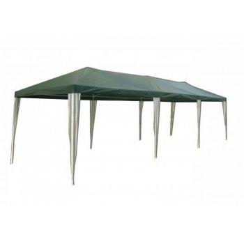 Zahradní stan altán 3902-PE zelený 3 x 9 m R06805