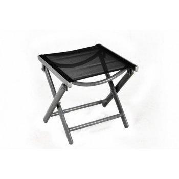 Hliníková skládací židle s nánožníkem