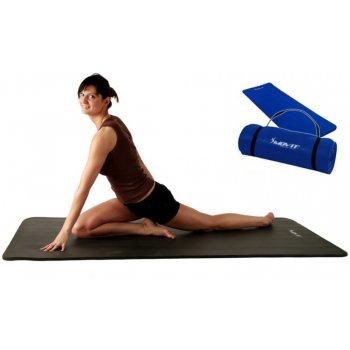 Jóga podložka na cvičení MOVIT® 190 x 100 x 1,5 cm - královská modrá M09615