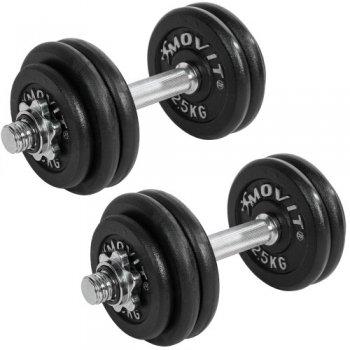 Profesionální sada činek MOVIT® o celkové hmotnosti 30 kg M06354