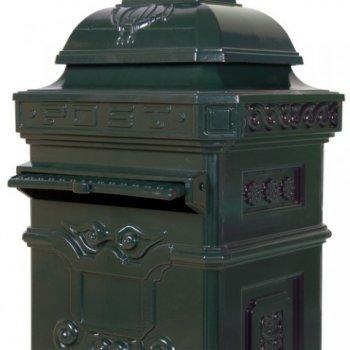 Poštovní schránka antik - zelená
