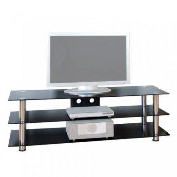 Televizní skleněný stolek NOBLE designe M01431