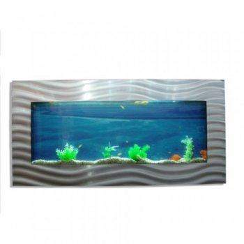 Nástěnné akvárium - akvárko 113 x 65 x 11 cm M01451