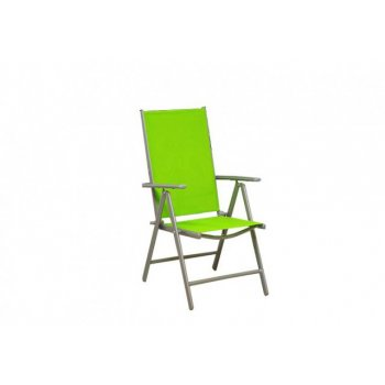 Zahradní skládací židle - zelená D06141