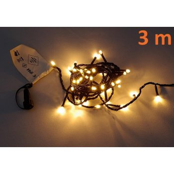diLED světelný řetěz - 40 LED teple bílá D02172