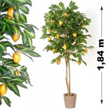 Umělá květina - Citron strom 184 cm M01408