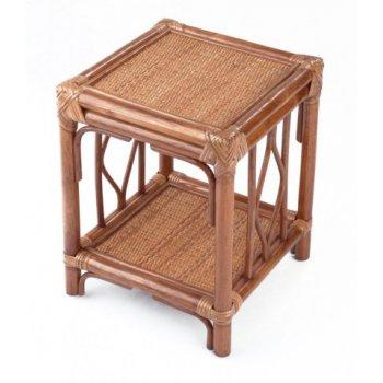 Ratanový stolek BRUMBUNG, světlý med HI08515