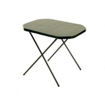 Stůl camping 53 x 70 cm zelený R07151