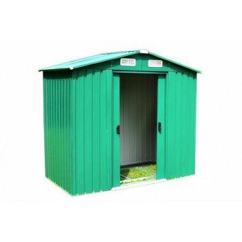 Zahradní domek, kovový, 257 x 205 x 202 cm D04255