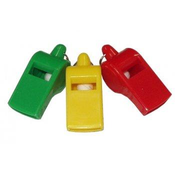 Plastová píšťalka