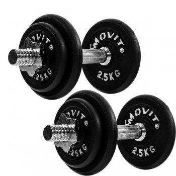 MOVIT® PROFI činkový litinový set - 20 kg M29354