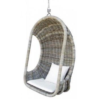 Závěsná ratanová houpačka HI08521