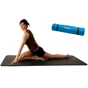 Podložka na jógu MOVIT® 190 x 100 x 1,5 cm, sv. modrá M29314