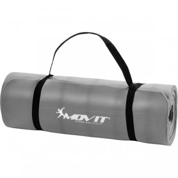 Podložka na cvičení MOVIT 190 x 60 x 1,5 cm - šedá M09617